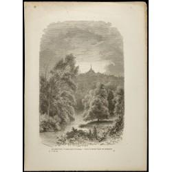 1860 - Pagode Shwedagon en...