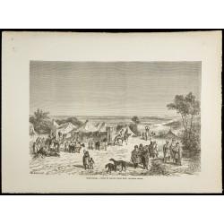 1860 - Camp touareg