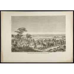 1860 - Vue du marché de...