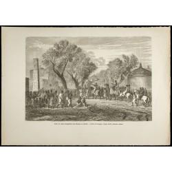1860 - Sultan de Baghirmi...
