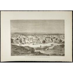 1860 - Vue de Kano au Nigeria
