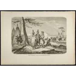 1860 - Village Yakoute en...