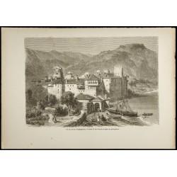 1860 - Monastère...
