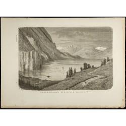 1860 - Vallée du Flatdal -...