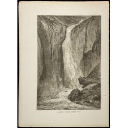 1860 - Le Rjukanfossen...