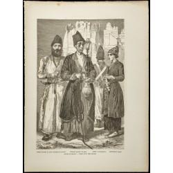 1860 - Iran - Groupe de...