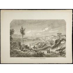 1860 - Port de Messine -...