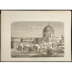 1860 - Le dôme du Rocher à...