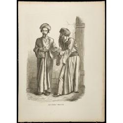 1860 - Juifs de Jérusalem