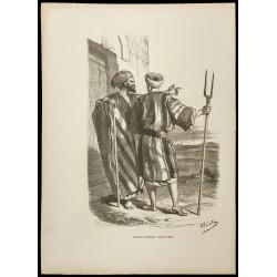 1860 - Habitants de Bethléem