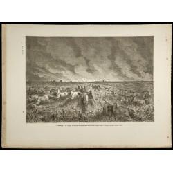 1860 - Incendie de prairie...