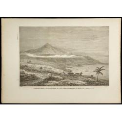 1860 - Pic du Teide à...