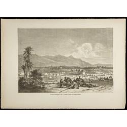 1860 - Maroc - Vue des...