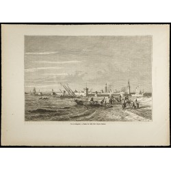 1860 - Vue de Mogador...