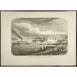 1860 - Paquebot et bateau...