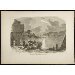 1860 - Baie de Nangasaki -...