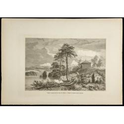 1860 - Temple toungouse sur...