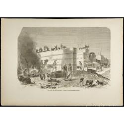 1860 - Inde - Scène...