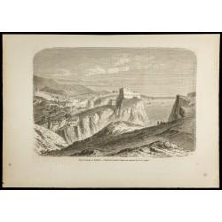1860 - Dubrovnik - Vue de...