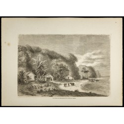 1860 - Vue de l'embouchure...
