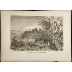 1860 - Scène de chasse en...