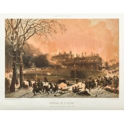1873 - Château de St Cloud...