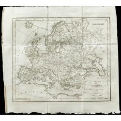 1820 - Carte ancienne de...