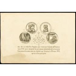 Médailles Louis XVIII