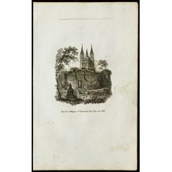 Vue de l'Abbaye St Germain...