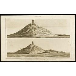 1852 - Ruines du Temple de...