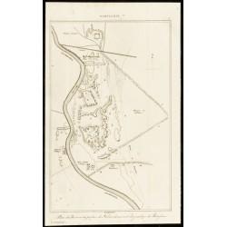 1852 - Plan du palais de...