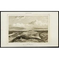 1852 - Vue des ruines de...
