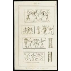 1852 - Cylindres gravés...