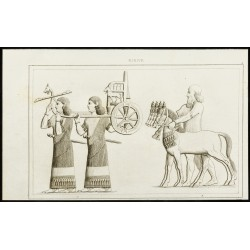 1852 - Bas relief babylonien