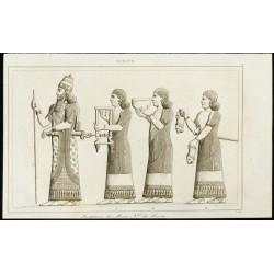 1852 - Bas relief de Ninive...