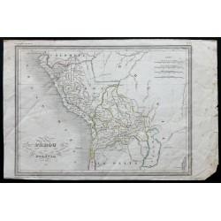 1840 - Carte du Pérou et de...