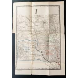 1885 - Carte des réserves...