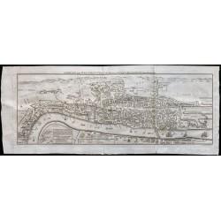 1791 - Grand plan de Londres