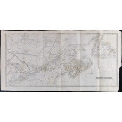 1839 - Carte de British...