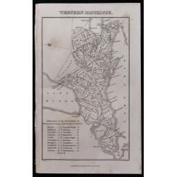 1839 - Carte des Western...