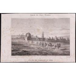 1840 - Vallée des  tombeaux...