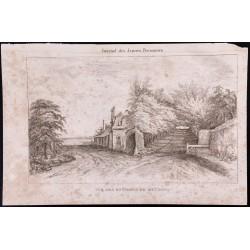 1840 - Vue des environs de...