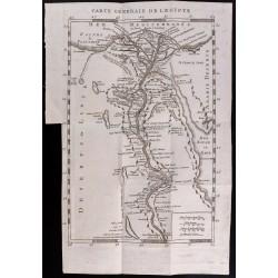 1785 - Carte de l'Égypte...