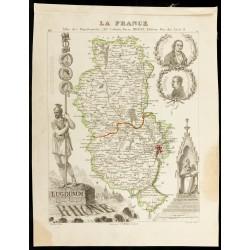 Carte du département du Rhône