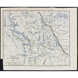 1874 - Carte du territoire...