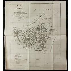 1891 - Carte de l'île de...