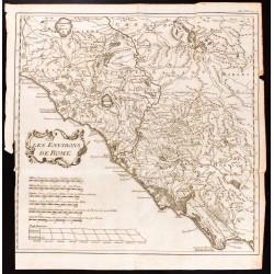 1747 - Carte des environs...