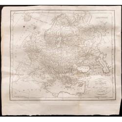 1824 - Carte de l'Europe