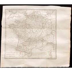 1824 - Carte du royaume de...