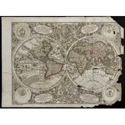 1730 - Mappemonde ancienne...